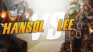 Fire Mage vs Enhancement (Hansol vs Lee) 5.4.2
