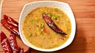Video Recipe: Mixed Vegetable Sambar  Tangy Spicy Vegetable Lentil Curry