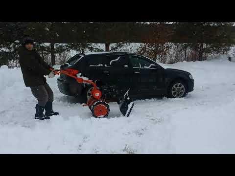 Отвал для снега на мотоблок Агат(салют)🚜