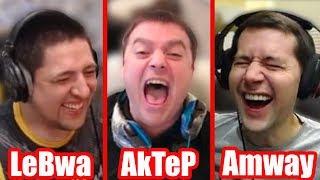 LeBwa - AkTeP - Amway921 | LeBwa про kiss_me | Максимум фрагов челлендж от Ворона