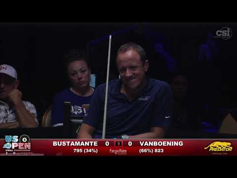 2016 US Open 8-Ball: Francisco Bustamante vs Shane Van Boening