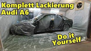 AUDI A6 PROJEKT - KOMPLETT LACKIERT!