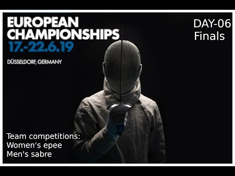 European Championships 2019 Day 06 P3 & Finals