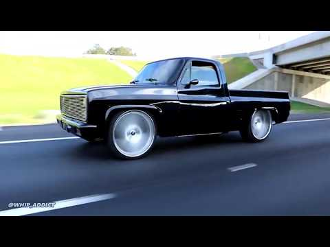 "WhipAddict: StitchedBySlick's ""Flatline"" Chevy C10 Short Bed Interior Swap On 26s, Build Review"
