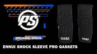Ennui shock sleeve pro gaskets - Powerslide Speaking Specs