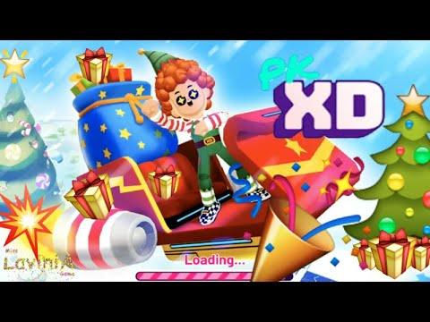 Новый Год в видео игра PK XD мультик для детей! Эльфы потеряли подарки Деда Мороза In Game PK XD!