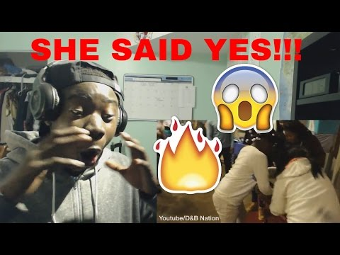 I PROPOSED TO BIANNCA! REACTION