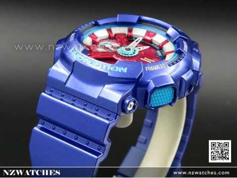 Casio G-SHOCK S-Series World time Purple Blue Unisex Watch GMA-S110HC-2A 09db4572f