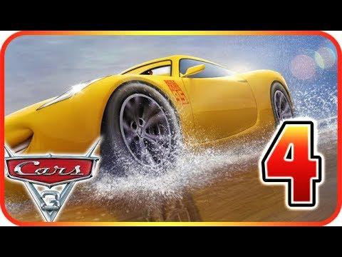 Cars 3: Driven to Win Walkthrough Gameplay Part 4 (PS3, X360, PS4, XOne, WiiU, NS)