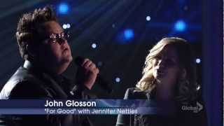 """For Good"" on Duets by John Glosson and Jennifer Nettles"