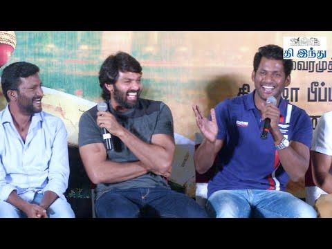 Arya - Vishal's Fun in 'Jeeva' Audio launch Function | Tamil The Hindu