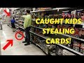 WE CAUGHT KIDS STEALING! - Card And Pack Hunting Part 13 - TheKonamiCrew