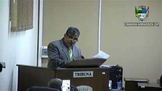 4ª Sessão Ordinária - Vereador Ademir Massa