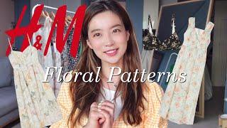 H&M try-on Haul 흐앤므 플로럴 프린…
