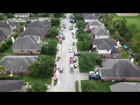 Hurricane Harvey Aftermath - Magnolia Estates, League City, TX