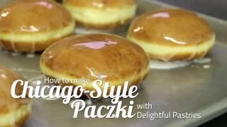 """Are you ready for paczki day? can learn how to make the much-beloved pastry at home with this video and some helpful from delightful pastries.music: """"kol..."""