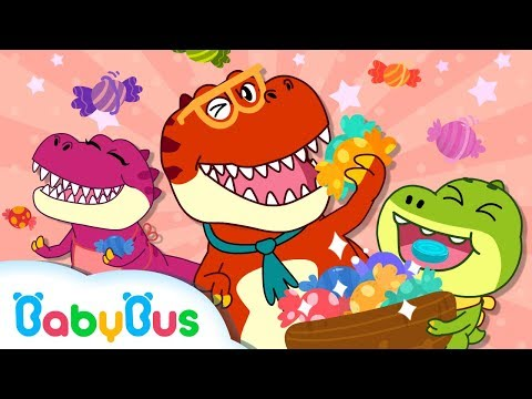 Dinosaurs Songs for Children  Tyrannosaurus Rex  Nursery Rhymes  Kids Songs  BabyBus