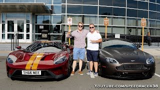 Picking up Shmee and his Ford GT!