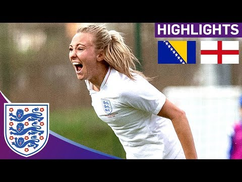 Lionesses Top Group after Comfortable Victory | Bosnia & Herz. 0-2 England | World Cup Qualifier