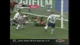 2002 USA vs Portugal - John O'Brien Goal 1