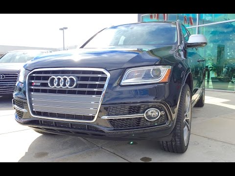 2015 audi sq5 first drive review this or a porsche macan. Black Bedroom Furniture Sets. Home Design Ideas