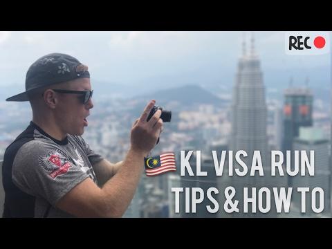 Kuala Lumpur 🌴🇲🇾 Best city for Thailand tourist visa run? Cheap Flights & How To at Thai Embassy