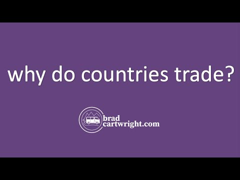 two countries can achieve gains trade even if one countrie Recall our hypothetical trade model: leinster is a labor abundant country and saxony is a land abundant country telephones are labor intensive goods and bread is a land intensive good assume that free trade prevails between the two countries.