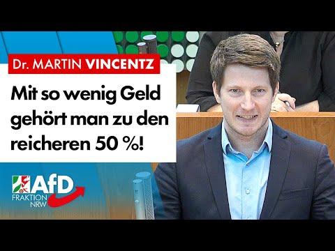 Mit so wenig Geld gehört man zu den reicheren 50 %! – Dr. Martin Vincentz (AfD)