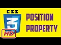 [Javascript Tutorial] css position property  tutorial ( fixed, absolute, relative, static )