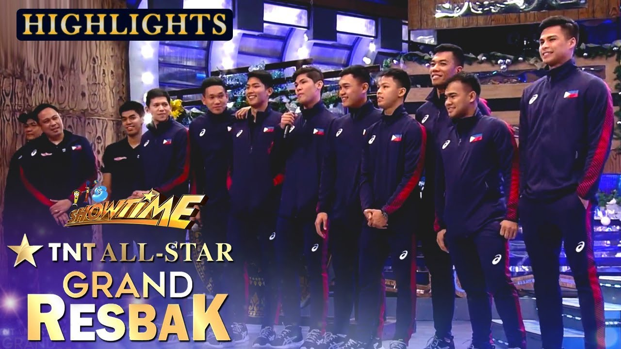 The Philippine Men S Volleyball Team Expresses Gratitude To Their Supporters Tawag Ng Tanghalan Youtube