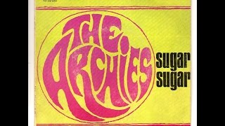 "A song written for the cartoon strip ""The Archies"" The same year it..."
