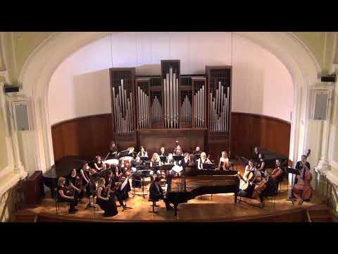 János Balázs at the Moscow Tchaikovsky Conservatory - Liszt:Hungarian Fantasy