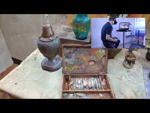 Atelier de Maurice Utrillo au Musée de MONTMARTRE /// OCULUS RIFT