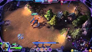 ♥ Heroes of the Storm (Gameplay) - Abathur, Split Push King