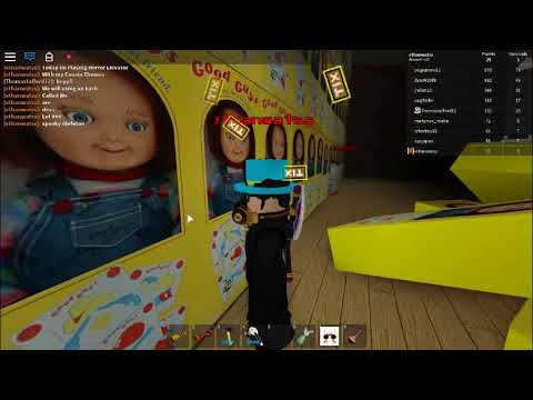 ROBLOX SCARY ELEVATOR! [Hacking]