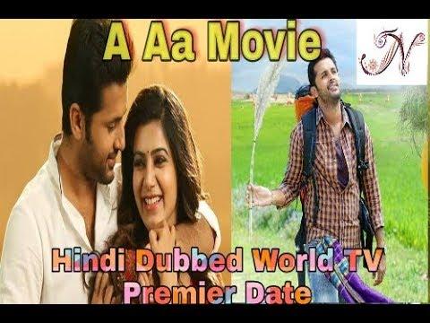 A Aa Movie Hindi Dubbed World TV premier...