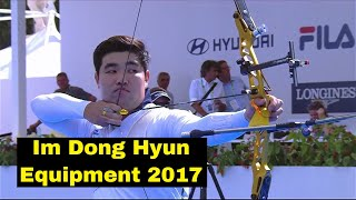 Im Dong Hyun Archery Equipment 2017