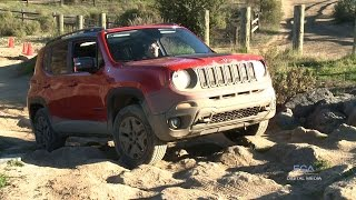 2015 Jeep Renegade off-road test drive with Jim Morrison