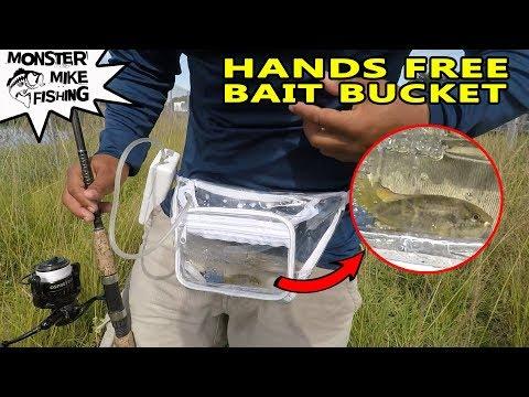 Bait Bucket Fanny Pack for Fishing!!!