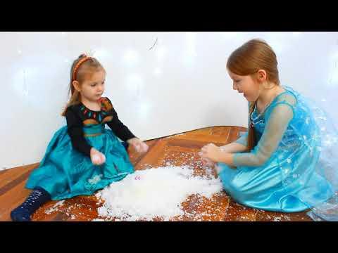 Sofia si Sara se Joaca in Zapada/ Video pentru Copii