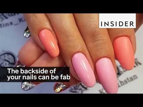 The backside of your nails can be just as fab as the front