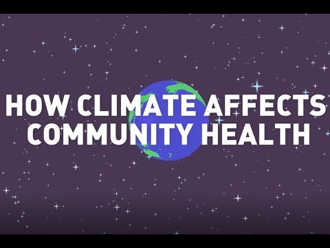 how climate affects community health - full video