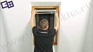 Roletka na strešné okno