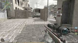 Call of duty 4 Gameplay PC