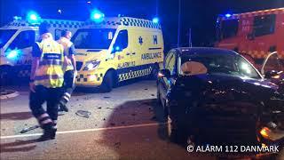 30.05.2018 Bil ramte anden bil, Ballerup