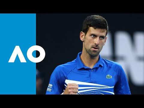 Novak Djokovic v Kei Nishikori match highlights (QF) | Australian Open 2019