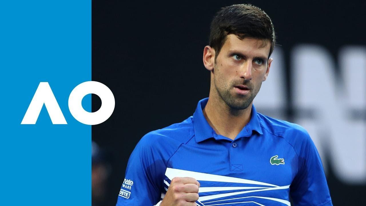 Novak Djokovic v Kei Nishikori match highlights (QF) | Australian Open 2019