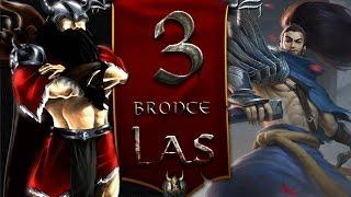 Los Bronces en LAS II#3 II S7 II Los Main Yasuos son putitos?
