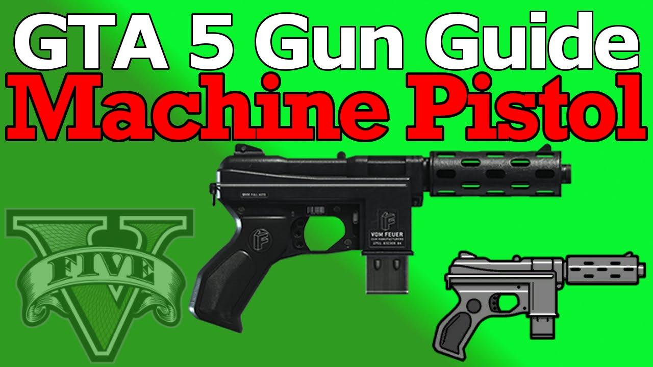 gta v machine pistol