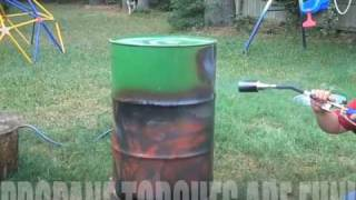 Ugly Drum Smoker By Garcia Brother Bbq